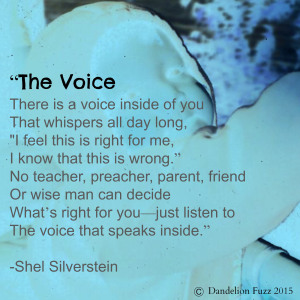 The Voice Writer's Quote Wednesday